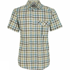 Mens Avery Short-Sleeved Check Shirt from Craghoppers