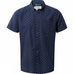 Mens Deacon Short-Sleeved Shirt from Craghoppers