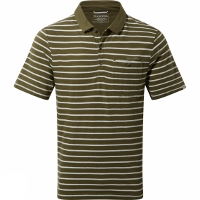 Mens Fraser Short Sleeve Polo from Craghoppers