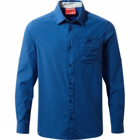 Mens NosiLife Tatton Long Sleeve Shirt from Craghoppers