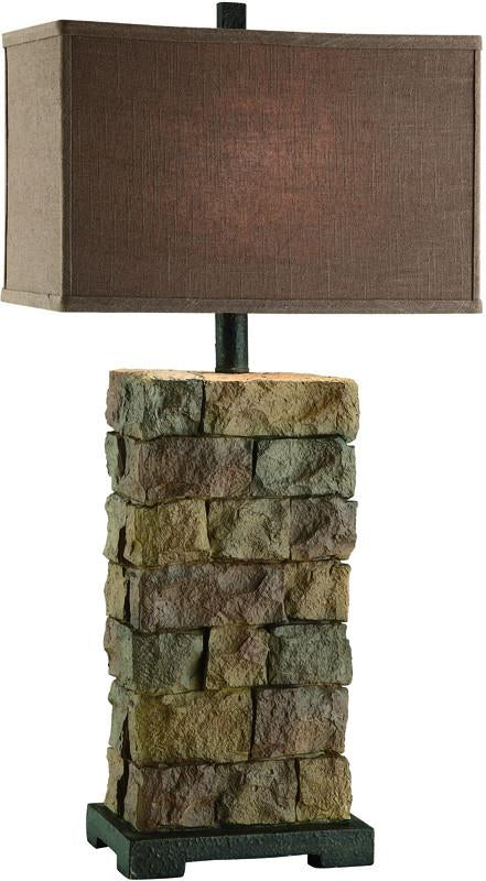 Crestview Collection CIAUP474 Sedona Tall Table Lamp 9.5/17 X 9.5/17 X 11 from Crestview Collection