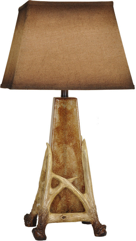 Crestview Collection CVABS1050 Antler Cage Table Lamp 31.5H from Crestview Collection