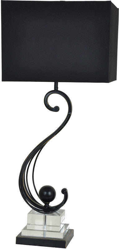 Crestview Collection CVAER712 Cressant Table Lamp from Crestview Collection