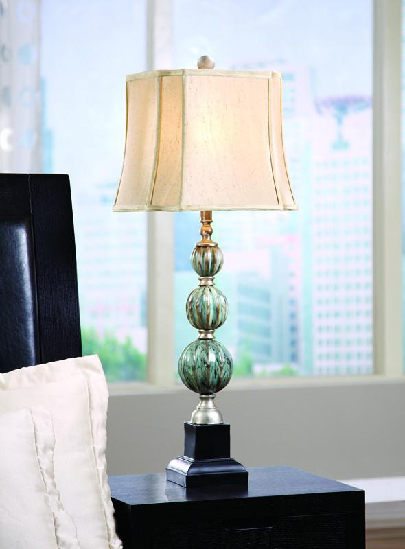 Crestview Collection CVARP819 Savoy Table Lamp 11.5/11.5 X 14/14 X 11.5 from Crestview Collection