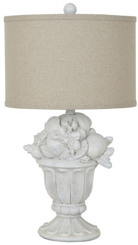 Crestview Collection CVAVP319 Shell Urn Table Lamp 14 X 14 X 9.5 from Crestview Collection