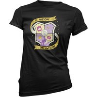 Purple Guild Women's Black T-Shirt - L - Black from Crystal Joy