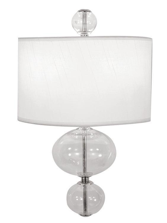 Crystorama 9921-CH-CL Pablo 2 Light Chrome Sconce from Crystorama