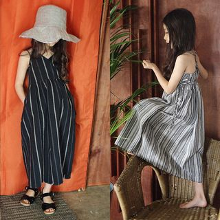 Family Matching Striped Maxi Sundress from Cuckoo