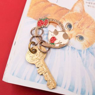 Cartoon Keyring from Cute Essentials