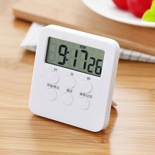 Digital Kitchen Timer White - One Size from Cute Essentials