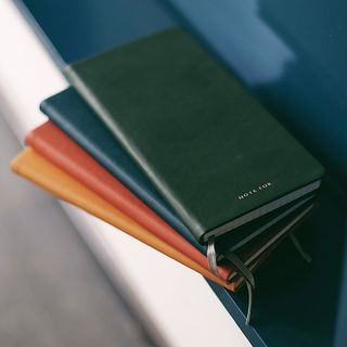Faux Leather Long Medium Notebook from Cute Essentials