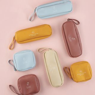 Faux Leather Zip Pouch / Pencil Case from Cute Essentials