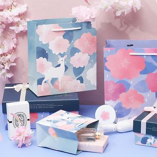 Floral Print Paper Gift Bag from Cute Essentials