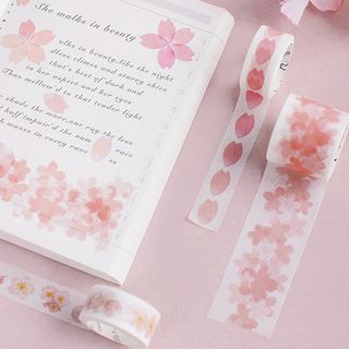 Set of 3: Sakura Print Masking Tape from Cute Essentials