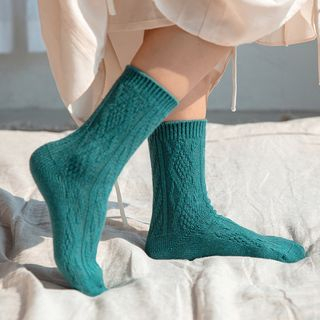 Twist Knit Socks from Cute Essentials