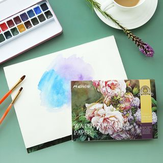 Watercolor Paper Sketchbook from Cute Essentials