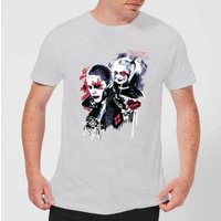 DC Comics Suicide Squad Harleys Puddin T-Shirt - Grey - S - Black from DC Comics