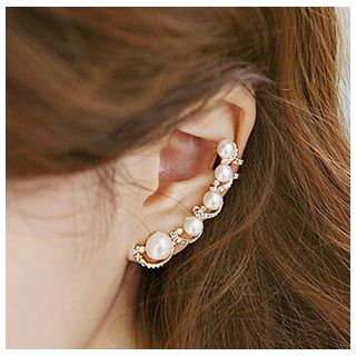 Faux Pearl Ear Cuff from DEBE