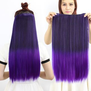 Gradient Straight Hair Extension from DEBE
