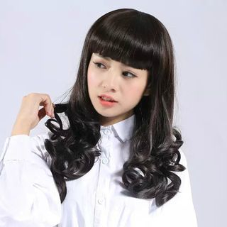 Long Full Wig - Curly from DEBE