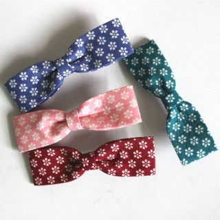 Patterned Bow Hair Clip from DEBE