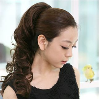 Ponytail Half Wig from DEBE