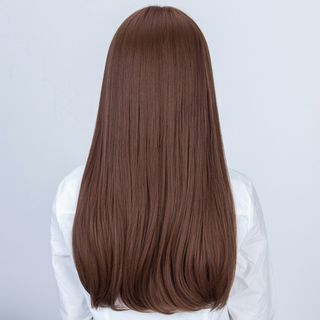 Straight Long Full Wig from DEBE