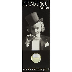 DECADENCE by Decadence EDT VIAL ON CARD for MEN from DECADENCE