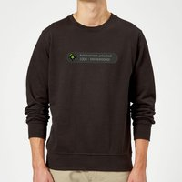 Achievement Unlocked -Fatherhood Sweatshirt - Black - 5XL - Black from Dad Hobbies