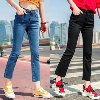 Crop Boot Cut Jeans from Denimot