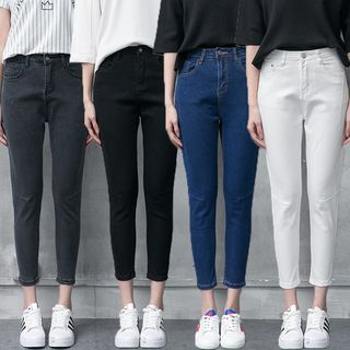 Cropped Harem Jeans from Denimot