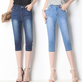 Cropped Skinny Jeans from Denimot