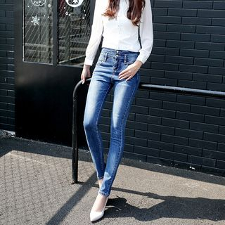 High Waist Skinny Jeans from Denimot