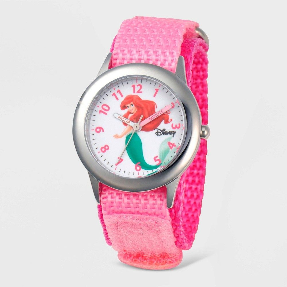 Girls' Disney Ariel Time Teacher Watch - Pink from Disney Princess