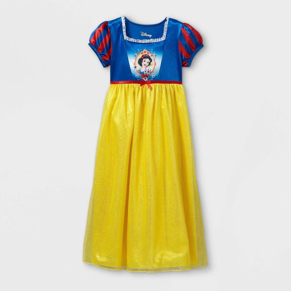 Girls' Disney Princess Snow White Nightgown - Blue M from Disney Princess