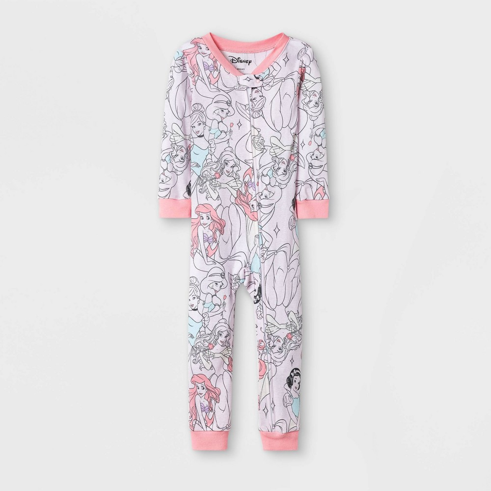 Toddler Girls' Disney Princesses Union Suit - Pink 2T from Disney Princess