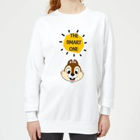 Disney Chip 'N' Dale The Smart One Women's Sweatshirt - White - S - White from Disney