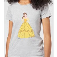 Disney Princess Belle Classic Women's T-Shirt - Grey - XXL - Grey from Disney