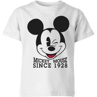 Disney Since 1928 Kids' T-Shirt - White - 3-4 Years - White from Disney