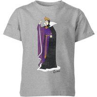 Disney Snow White Queen Classic Kids' T-Shirt - Grey - 3-4 Years - Grey from Disney