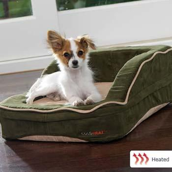 "Dolce Vita Therabed Heated Pet Bed - Rectangular Small 24"" x 20"" from Dolce Vita"
