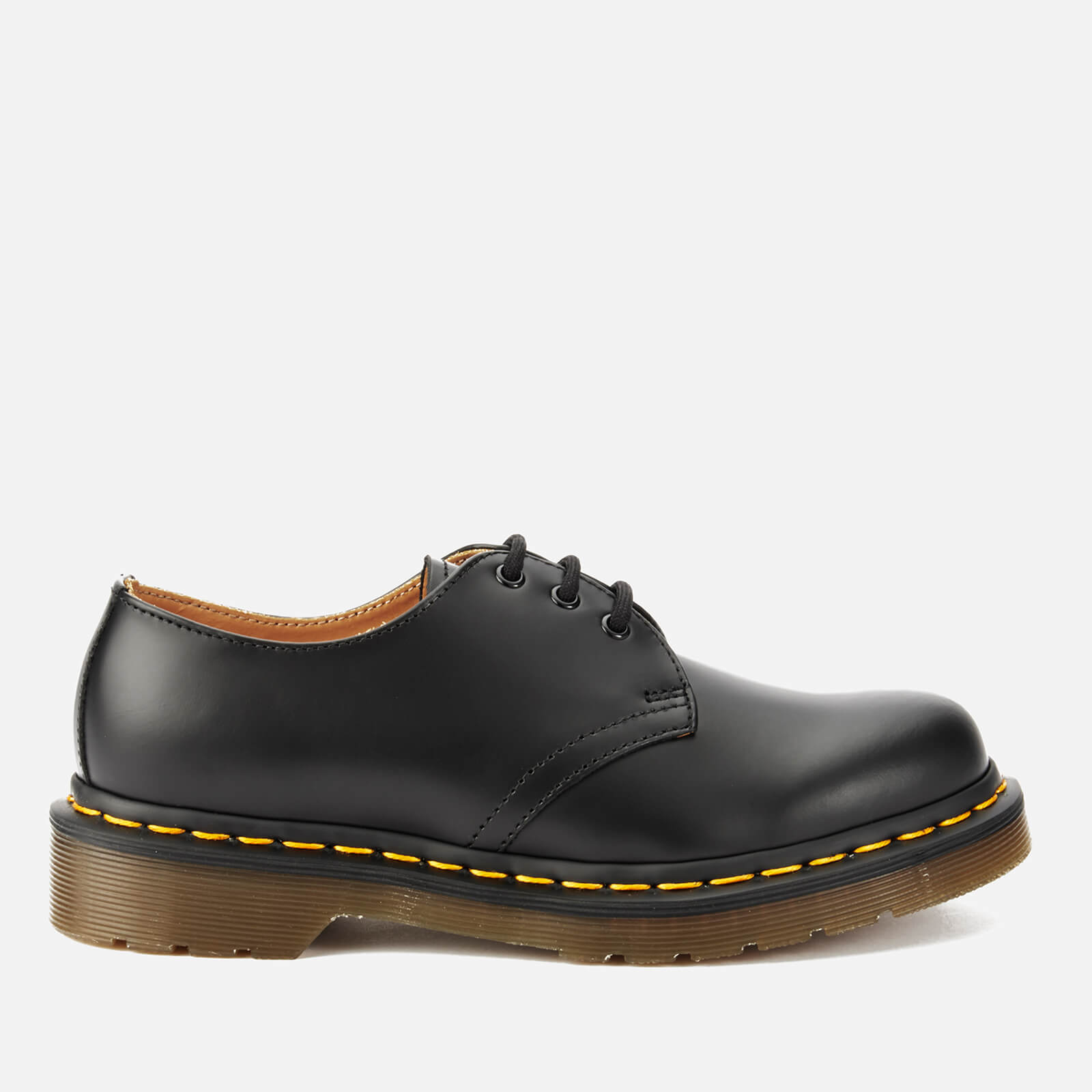 Dr. Martens 1461 Smooth Leather 3-Eye Shoes - Black - UK 8 from Dr. Martens