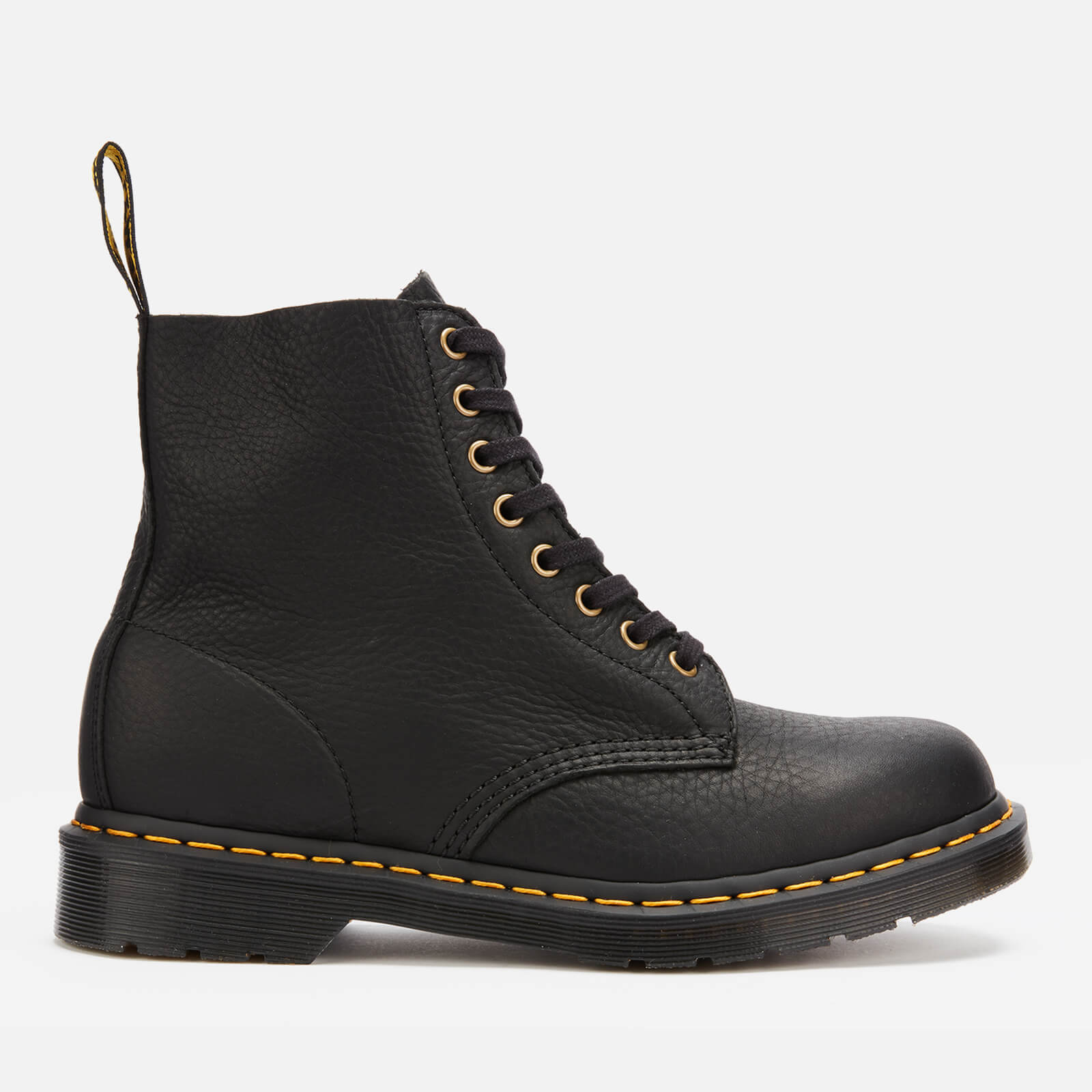 Dr. Martens Men's 1460 Ambassador Soft Leather Pascal 8-Eye Boots - Black - UK 11 - Black from Dr. Martens