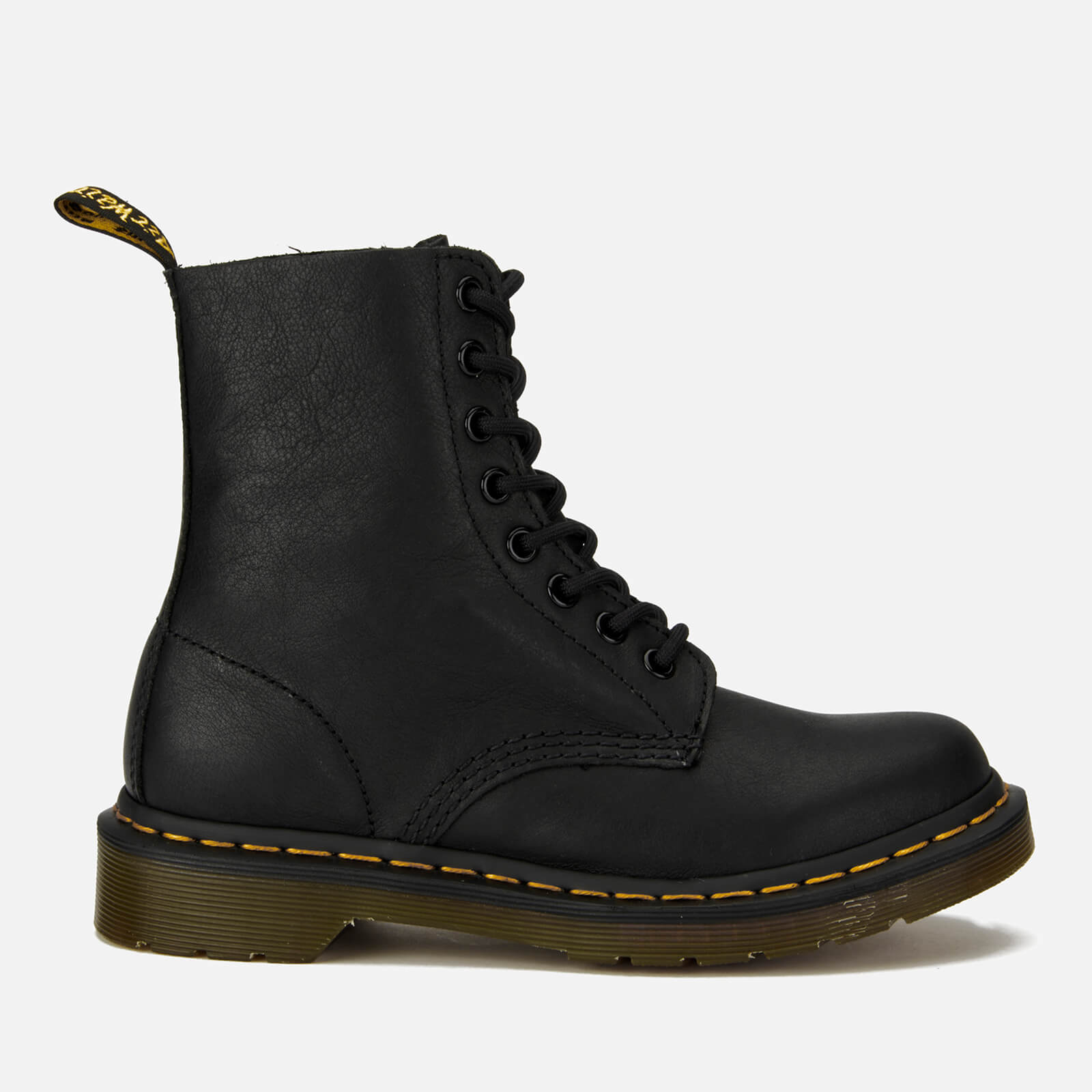 Dr. Martens Women's 1460 Pascal Virginia Leather 8-Eye Boots - Black - UK 8 - Black from Dr. Martens