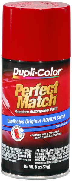 Acura & Honda Vehicles Milano Red Auto Spray Paint - R81 (1992-2018) from Dupli-Color