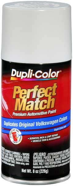 Audi Porsche & Volkswagen Candy White Auto Spray Paint - LB9A (1995-2018) from Dupli-Color