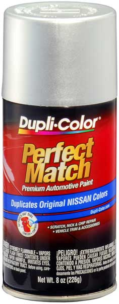 Brilliant Silver for Infiniti & for Nissan Auto Spray Paint - K23 (2005-2018) from Dupli-Color