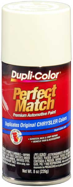 Chrysler - Dodge - Jeep - Mitsubishi Stone White Auto Spray Paint-PW1 (1996-2013) from Dupli-Color