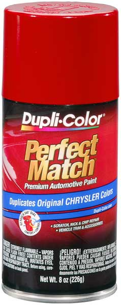 Chrysler - Dodge - Jeep Radiant Fire Auto Spray Paint - PRB R87 (1990-2005) from Dupli-Color