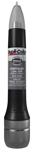 Chrysler Metallic Mineral Gray All-In-1 Scratch Fix Pen - CDM PDM (2004-2013) from Dupli-Color
